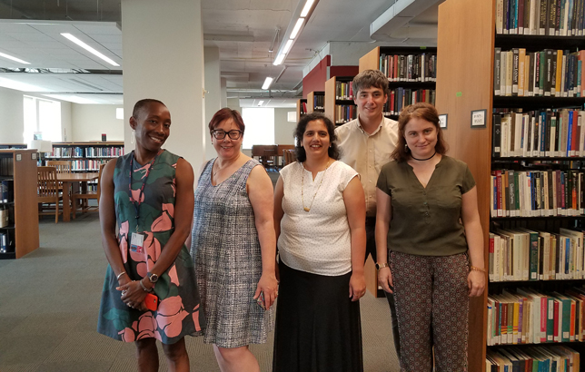 St. John's University Libraries Web & Emerging Technologies team