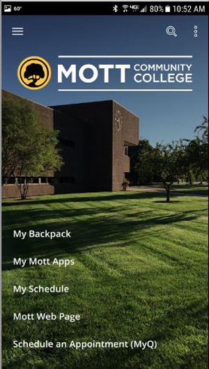 Mott CC App Includes Wayfinding Feature -- Campus Technology