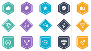 learning machine badges