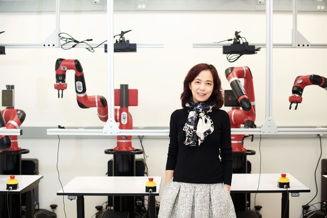 Fei-Fei Li , co-lead of the Stanford Institute for Human-Centered Artificial Intelligence