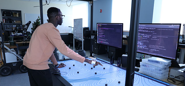 robotics research at Western Virginia University