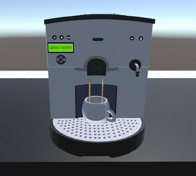 virtual coffee maker