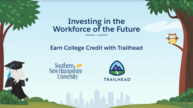 Salesforce and SNHU