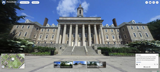 Penn State Launches Interactive Campus Maps Systemwide ...