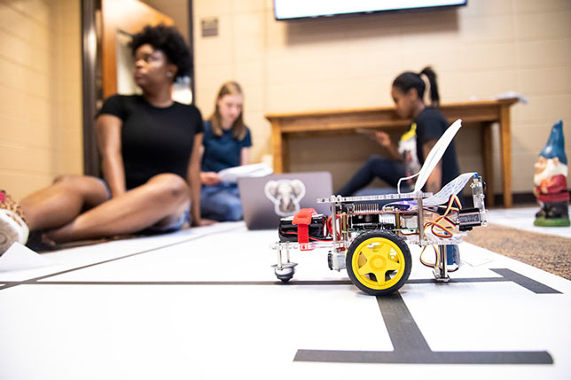 robotics programming at the University of West Georgia