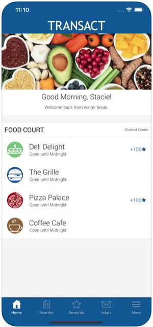 Campus Adopts Mobile App to Accommodate Campus Dining -- Campus Technology