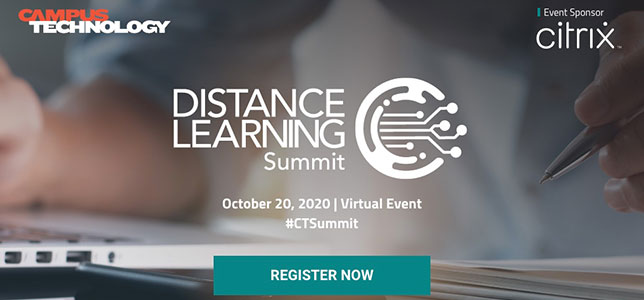 Campus Technology Distance Learning Summit