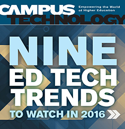 Campus Technology January/February 2016