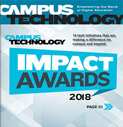 Campus Technology Oct/Nov 2018 cover