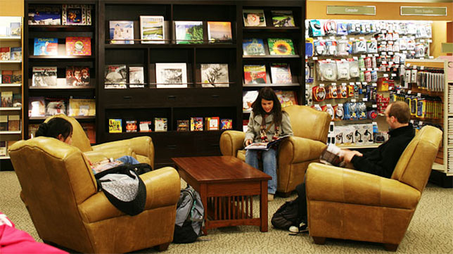 The Barnes & Noble store at Oakland University