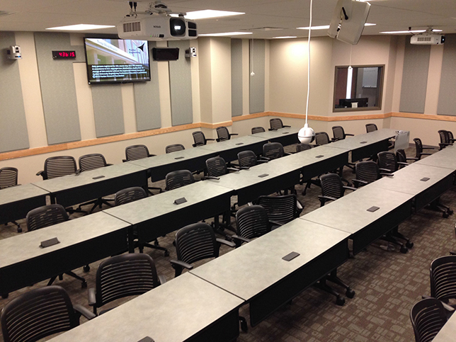 Purdue distance learning classroom