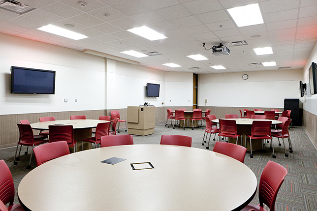 active learning classroom design