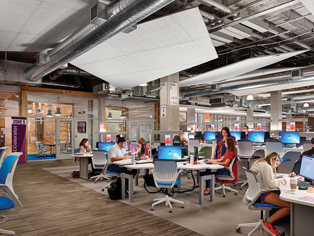Building Learning Spaces in Unexpected Places -- Campus