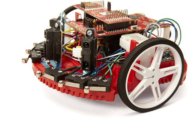 Texas Instruments this week took the wraps off a new robotics system and curriculum aimed at university-level engineering students.