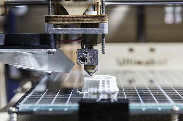3D Printing to Grow at Double-Digit Rate Through 2021