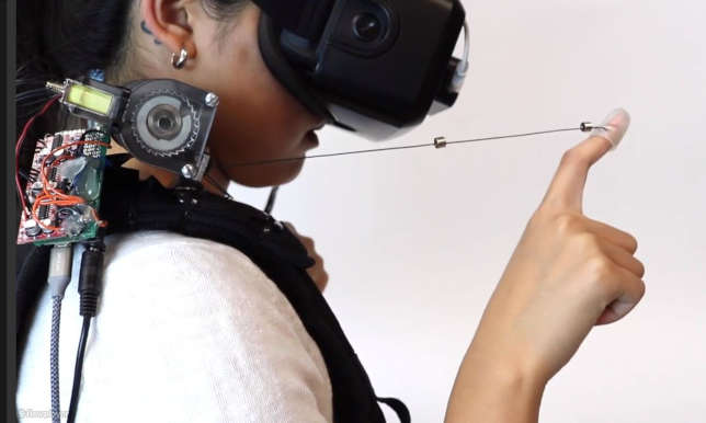 VR Device Replicates Touch