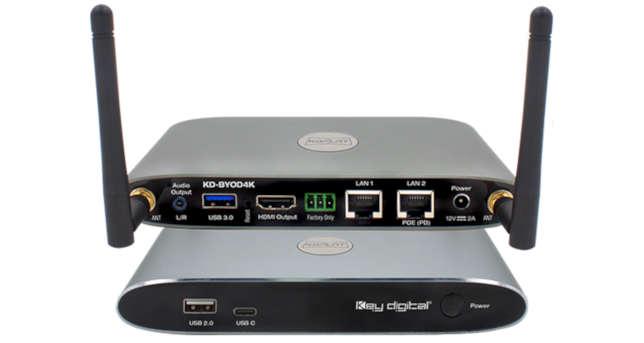 Wireless Presentation Gateway Addresses BYOD
