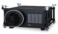 The NEC PH1000U offers a native WUXGA resolution and produces 11,000 lumens of brightness.