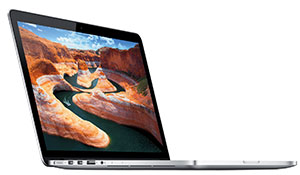 The 13-inch MacBook Pro offers a screen resolution of 2,560 x 1,600 pixels.