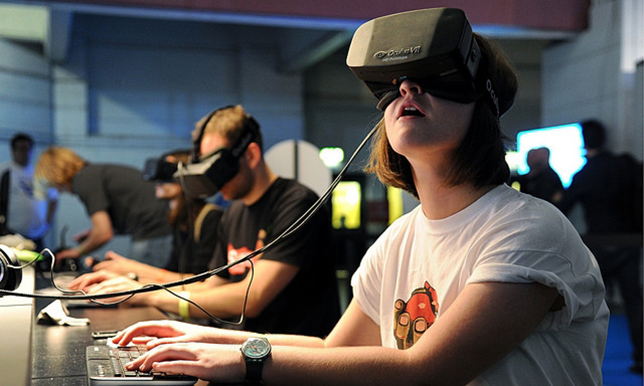 Oculus Rift for education