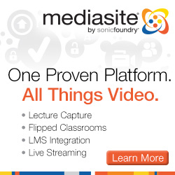 mediasite. One Proven Platform. All Things Video.