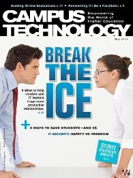 Campus Technology Magazine May 2012: Cover