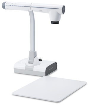 Elmos TT-12 document camera supports computer-free video capture.