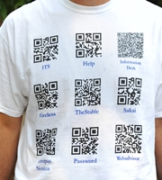 QR code-clad IT staffers greeted new Washington and Lee students this fall.