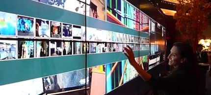 UCSD partnered with King Abdullah University of Science and Technology to deliver a 20 foot x 20 foot interactive video wall at Siggraph 2011.