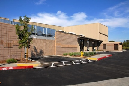 The Lee Belarmino Sr. District Data Center on the campus of San Joaquin Delta College in Stockton, CA