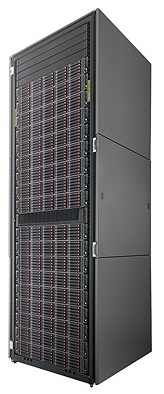 The HP P6000 Enterprise Virtual Array offers up to 480 TB of virtualized storage.