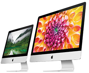 The new iMacs gets a thinner form factor, measuring 5 mm at their thinnest point.