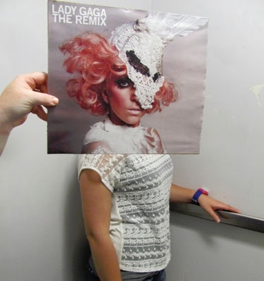 Lady Gaga sleeveface