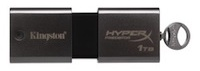 The Kingston DataTraveler HyperX Predator 3.0 offers capacities of up to 1 TB and read speeds of up to 240 MBps.
