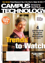 Campus Technology: January 2011 cover shot