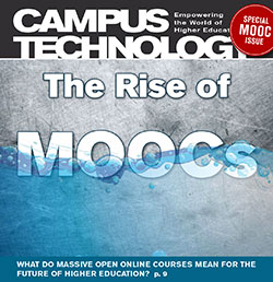 "CT Magazine Cover -- August 2013, ""The Rise of MOOCs"""