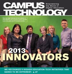 "CT Magazine Cover -- July 2013, ""2013 Innovators"""