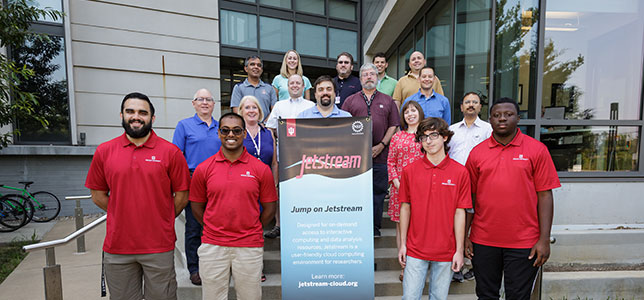 Indiana University's Jetstream team