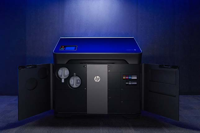 HP's new Jet Fusion 300/500 3D printing solution for functional prototyping and short run production.