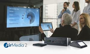 crestron updates airmedia wireless presentation tech campus
