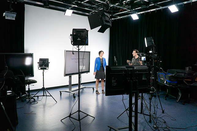Princeton video production studio