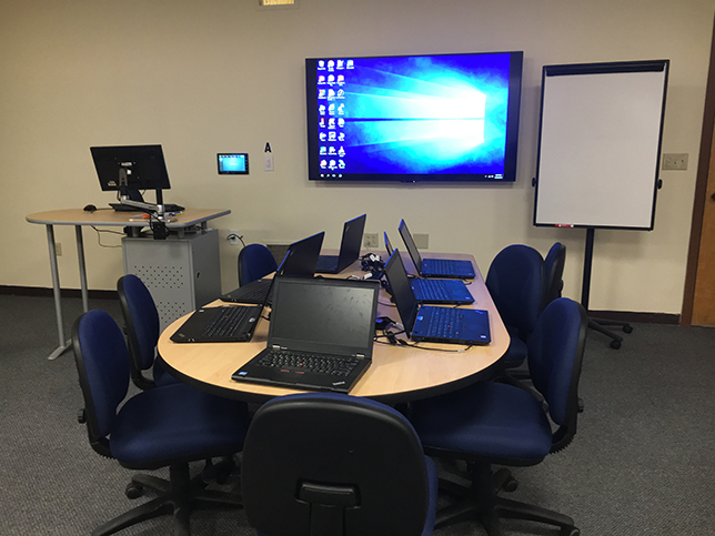 Saint Anselm College's Active Learning Lab