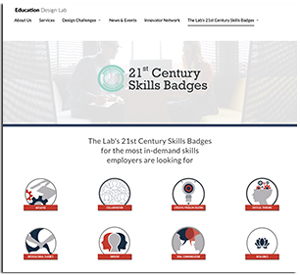 Education Design Lab's 21st Century Skills Badges