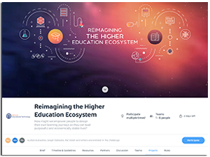 Reimagining the Higher Education Ecosystem Challenge