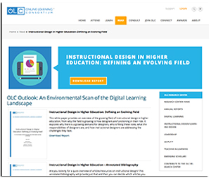 Instructional Design in Higher Education: Defining an Evolving Field