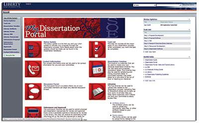 liberty online student portal