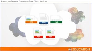 Scan to, and Access Documents from Cloud Services