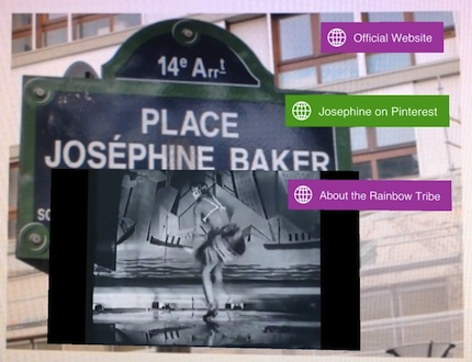augmented Place Josephine Baker in Paris