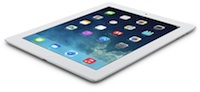 The fourth-generation iPad with Retina Display