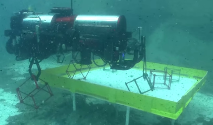 The Cornell team's Gemini robosub experienced a valve leak en route to victory.